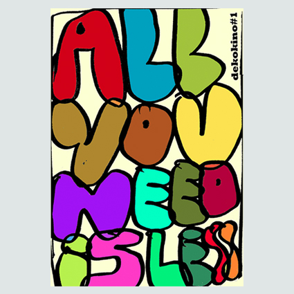 ALL YOU NEED IS LESS - DEKOKINO 1