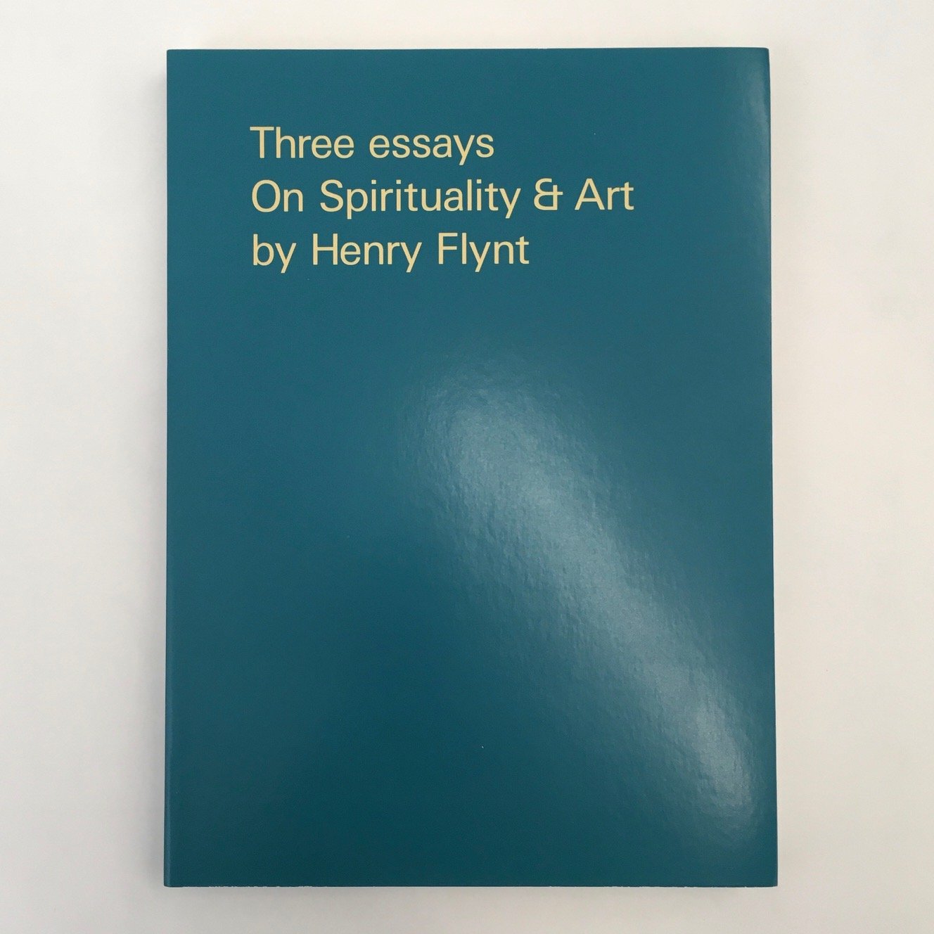 Three Essays On Spirituality & Art