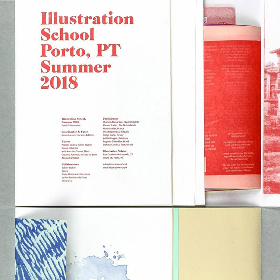 Illustration School Porto, PT Summer 2018