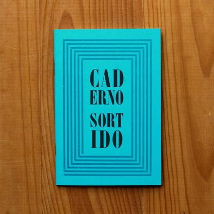 Caderno Sortido Azul